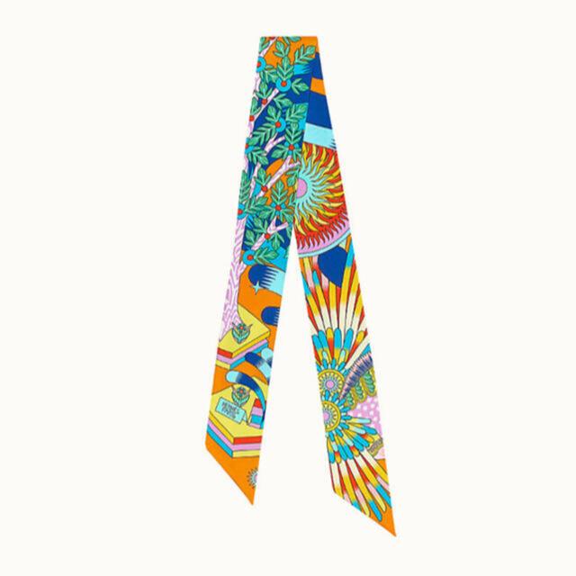 """Hermes(エルメス)のエルメス HERMES ツイリー スカーフ """"ペガサスの源泉"""" レディースのファッション小物(バンダナ/スカーフ)の商品写真"""