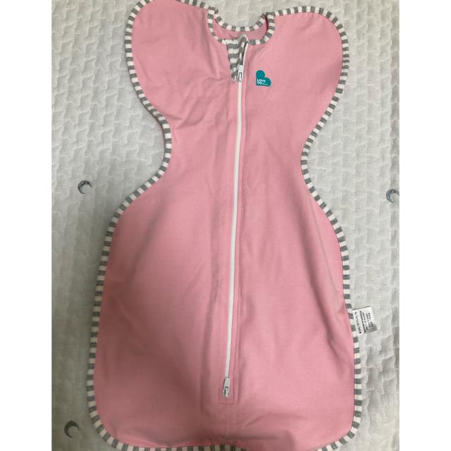 スワルドアップ Sサイズ ピンク キッズ/ベビー/マタニティのこども用ファッション小物(おくるみ/ブランケット)の商品写真