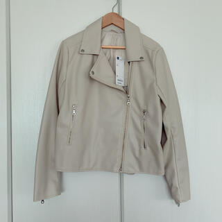ジーユー(GU)の新品未使用タグ付き♡ライダースジャケット(ライダースジャケット)
