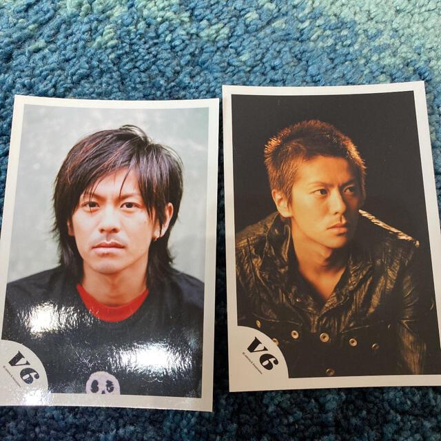 森田剛 公式写真 2枚 エンタメ/ホビーのタレントグッズ(アイドルグッズ)の商品写真