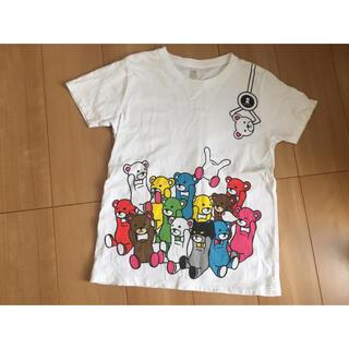 グラニフ(Graniph)のグラニフ コントロールベア tシャツ 半袖 白 ss(Tシャツ(半袖/袖なし))