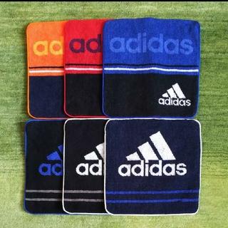 アディダス(adidas)の新品◇アディダス◇adidas◇ハンドタオル◇6枚組(ハンカチ/ポケットチーフ)