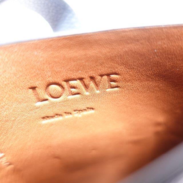 LOEWE(ロエベ)のLOEWE ロエベゲートポケットミニポシェット レディース ブルー レディースのバッグ(ショルダーバッグ)の商品写真