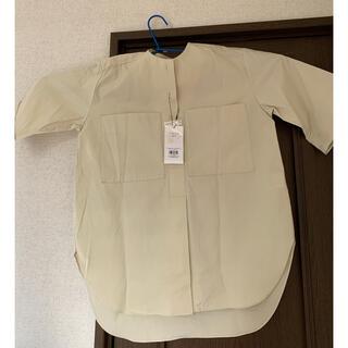 オゾック(OZOC)のノーカラーシャツ(シャツ/ブラウス(長袖/七分))