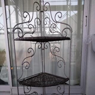 ザラホーム(ZARA HOME)のアイアン  3段 花台 折り畳み式(その他)