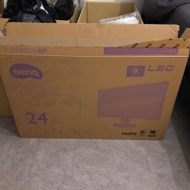 LG Electronics(エルジーエレクトロニクス)のBENQ GL2460 スマホ/家電/カメラのPC/タブレット(ディスプレイ)の商品写真