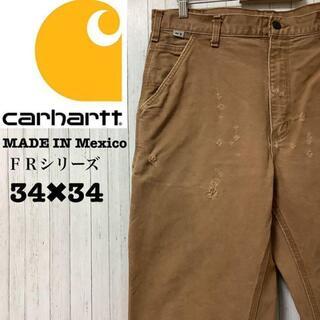 carhartt - カーハート メキシコ製 FRシリーズ ペインターパンツ ブラウン 34/34