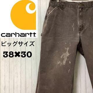 carhartt - カーハート ペインターパンツ ダークブラウン ビッグサイズ ワーク 38/30