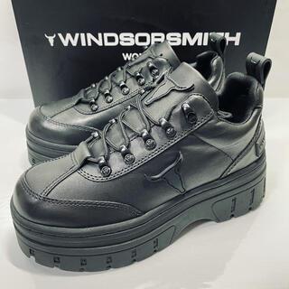WINDSOR SMITH  ladies  ダッドスニーカー  23 ブラック