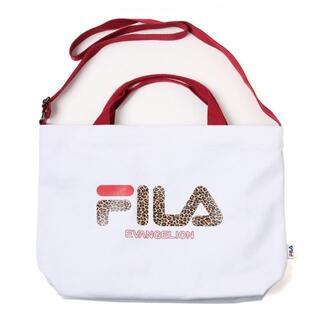 FILA - 新品限定送料無料FILA(フィラ)×エヴァンゲリオン2WAYトート白