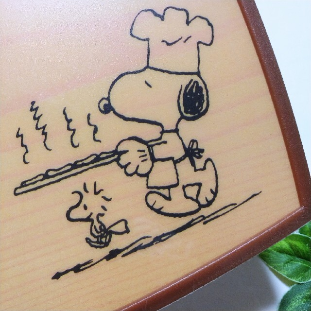 SNOOPY(スヌーピー)のスヌーピー ピーナッツ カッティングボード SNOOPY peanuts インテリア/住まい/日用品のキッチン/食器(調理道具/製菓道具)の商品写真