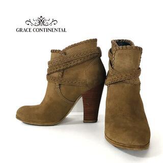 GRACE CONTINENTAL - GRACE CONTINENTAL グレースコンチネンタル ブーツ ブーティ