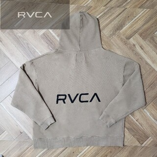 ルーカ(RVCA)のRVCA(ルーカ) ロゴ パーカー フーディ オーバーサイズ(パーカー)