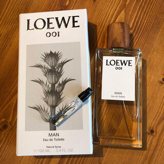 ロエベ(LOEWE)のLOEWE 香水 001 Man トワレ (ユニセックス)