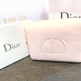 ディオール(Dior)のディオール ノベルティ ふわふわ ピンクポーチ(ポーチ)
