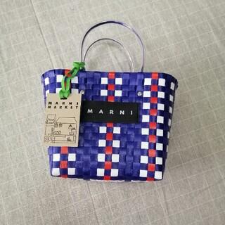 Marni - ©便利©マルニ MARNI フラワーカフェ ピクニックバッグ かごバッグ