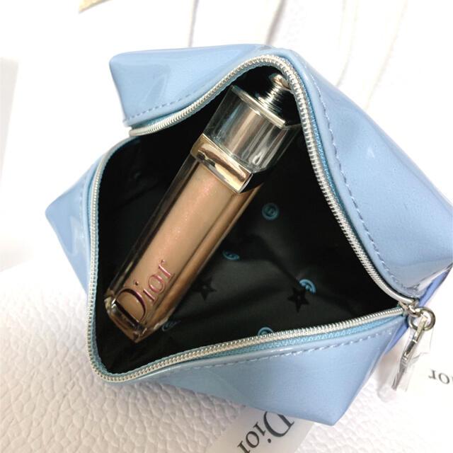 Dior(ディオール)のディオール ノベルティ ポーチ スターチャーム ブルー レディースのファッション小物(ポーチ)の商品写真