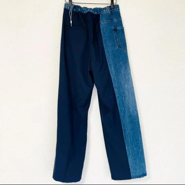 Ameri VINTAGE(アメリヴィンテージ)の❤️AMERI❤️DENIM LAYERED TAPERED PANTS レディースのパンツ(カジュアルパンツ)の商品写真