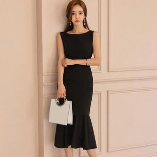 オケージョンスタイルのドレス(ミディアムドレス)