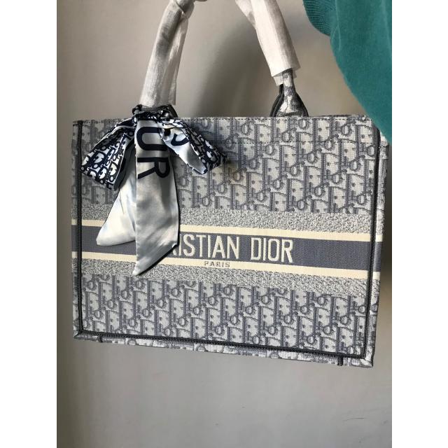 Christian Dior(クリスチャンディオール)のクリスチャン ディオール キャンバス トートバッグ  レディースのファッション小物(その他)の商品写真