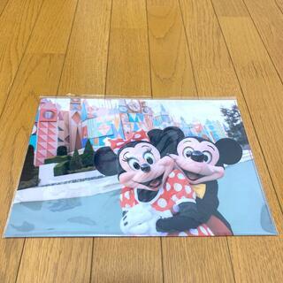 Disney - ミッキー&ミニー クリアファイル