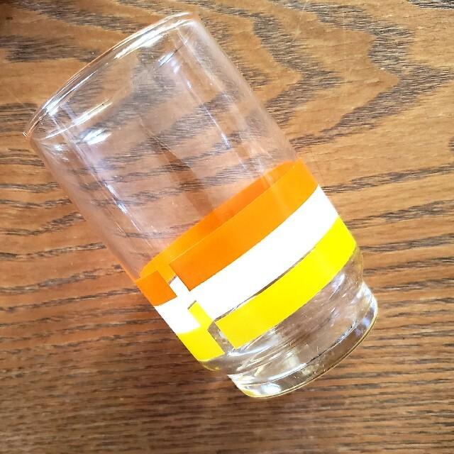 東洋佐々木ガラス(トウヨウササキガラス)の昭和レトロ レトロポップ グラス セット 新品 インテリア/住まい/日用品のキッチン/食器(グラス/カップ)の商品写真