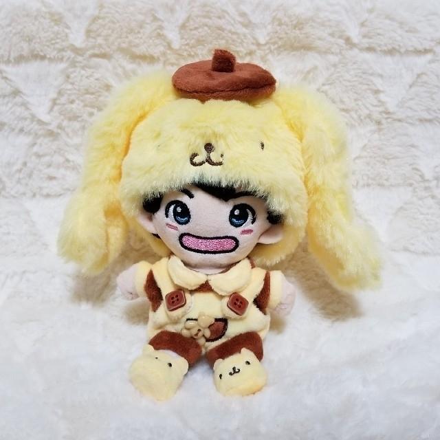 シナモンロール&ポムポムプリン エンタメ/ホビーのおもちゃ/ぬいぐるみ(ぬいぐるみ)の商品写真