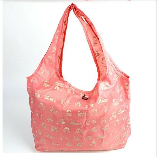 SNOOPY(スヌーピー)のSNOOPY 巾着付きエコバッグ お買い物バッグ レディースのバッグ(エコバッグ)の商品写真