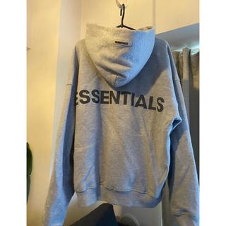 エッセンシャル(Essential)のessentials 光る リフレクター パーカー(パーカー)