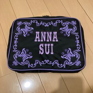 ANNA SUI - ANNA SUI ロゴ刺繍スーパーマルチバッグ