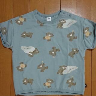 futafuta - フタフタくま青色90cmトップス半袖バースデイフタクマ