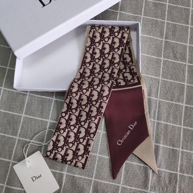 Christian Dior(クリスチャンディオール)のDior デイオール スカーフ 即発 レディースのファッション小物(バンダナ/スカーフ)の商品写真