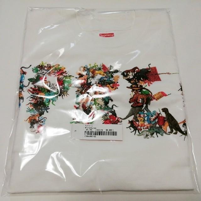 Supreme(シュプリーム)の【白L】21ss Supreme Toy Pile Tee White メンズのトップス(Tシャツ/カットソー(半袖/袖なし))の商品写真