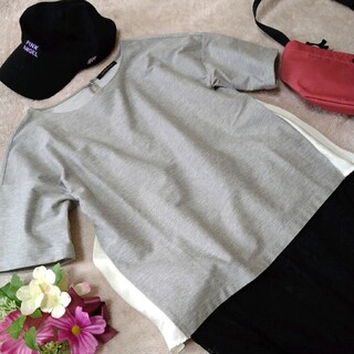 バンヤードストーム(BARNYARDSTORM)の【美品】BARNYARDSTORM 綿混カットソー バンヤードストーム Tシャツ(Tシャツ(半袖/袖なし))