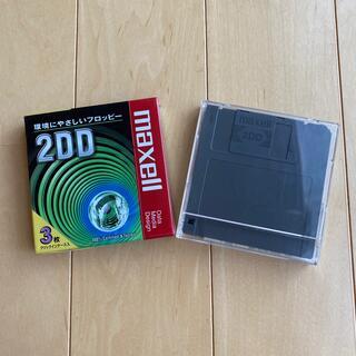 マクセル(maxell)の2DDフロッピーディスク 3枚入り×2(PC周辺機器)