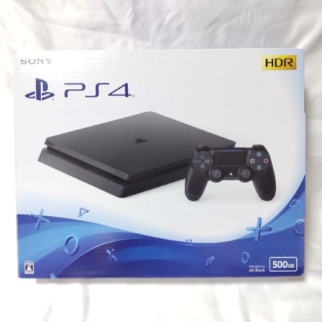 PlayStation4(プレイステーション4)のPS4 ジェットブラック 最新薄型 CUH-2200A500GB 美品 エンタメ/ホビーのゲームソフト/ゲーム機本体(家庭用ゲーム機本体)の商品写真