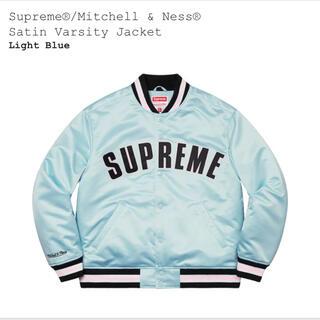 Supreme - Supreme Mitchell & Ness Satin Varsity