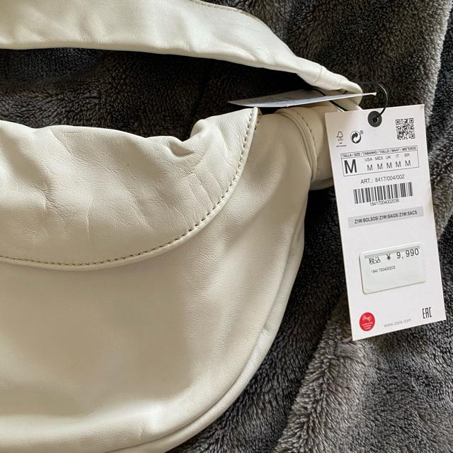 ZARA(ザラ)のZARA リアルレザー ボディバッグ レディースのバッグ(ボディバッグ/ウエストポーチ)の商品写真