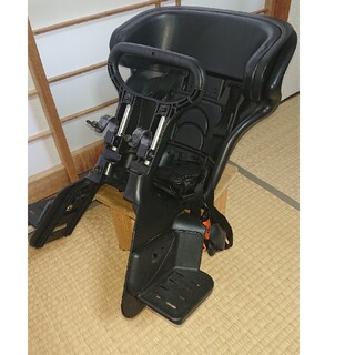 【OGK】自転車ベビーシート(前) 雨具カバー付(自動車用チャイルドシート本体)