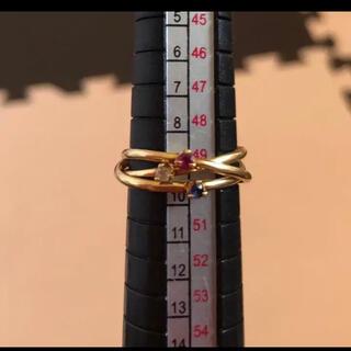 4℃ - 4°C  K18  3連リング