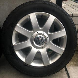 フォルクスワーゲン(Volkswagen)の【純正ホイール】スタッドレスタイヤ VW(タイヤ・ホイールセット)