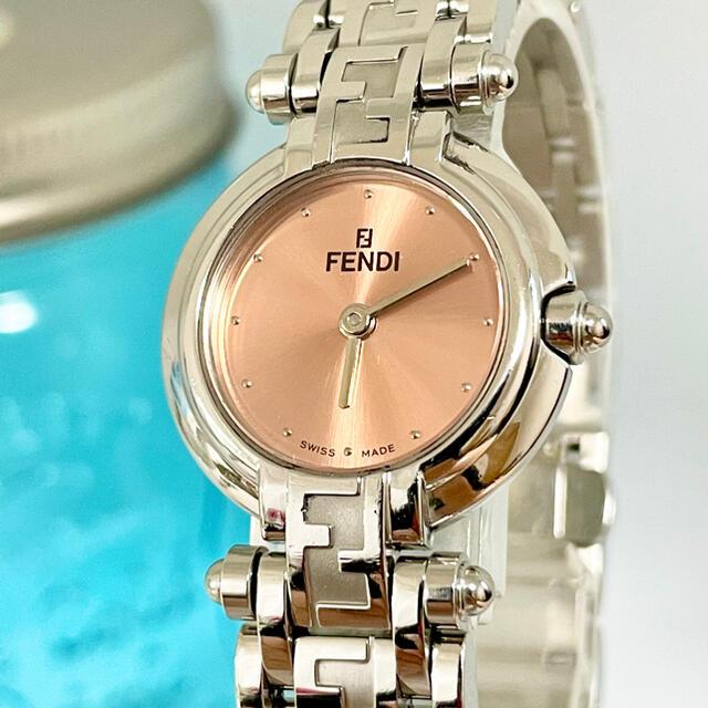 FENDI(フェンディ)の162 FENDI フェンディ時計 レディース腕時計 ズッカ柄 オレンジ レディースのファッション小物(腕時計)の商品写真
