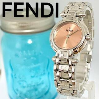 FENDI - 162 FENDI フェンディ時計 レディース腕時計 ズッカ柄 オレンジ