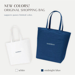 RANDEBOO 札幌パセオ限定 Newcolor ショッパートートバッグセット(エコバッグ)
