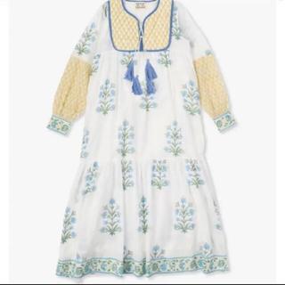 Ron Herman - 新品 SZ Blockprints  Print Dress  ワンピース S