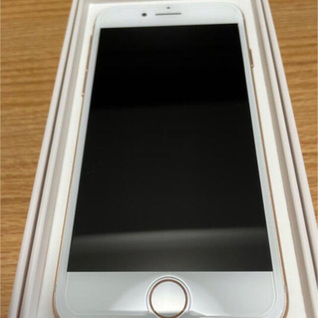 iPhone(アイフォーン)のほぼ未使用 iPhone 8 Gold 64 GB SIMフリー スマホ/家電/カメラのスマートフォン/携帯電話(スマートフォン本体)の商品写真