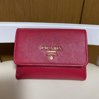 PRADA - PRADAサフィアーノ二つ折り財布