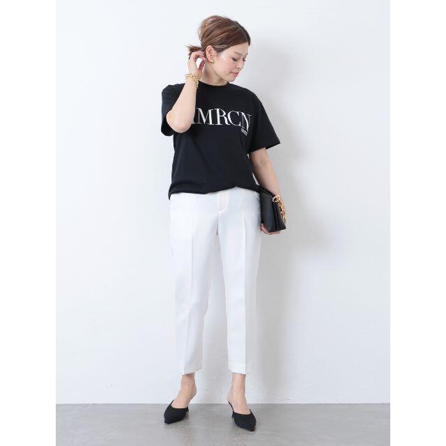 L'Appartement DEUXIEME CLASSE(アパルトモンドゥーズィエムクラス)の【AMERICANA】 AMRCN Tシャツ Deuxieme Classe レディースのトップス(Tシャツ(半袖/袖なし))の商品写真