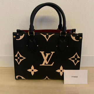 LOUIS VUITTON - 正規品 ルイヴィトン オンザゴーPM アンプラント