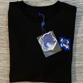 MAISON KITSUNE' - 【新品未使用】ADERERRORxメゾンキツネ Tシャツ 黒A3